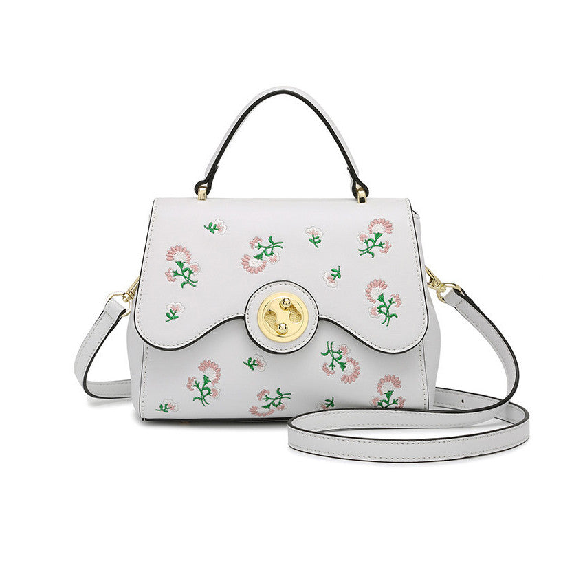 Cute Embroidery Shoulder Bag