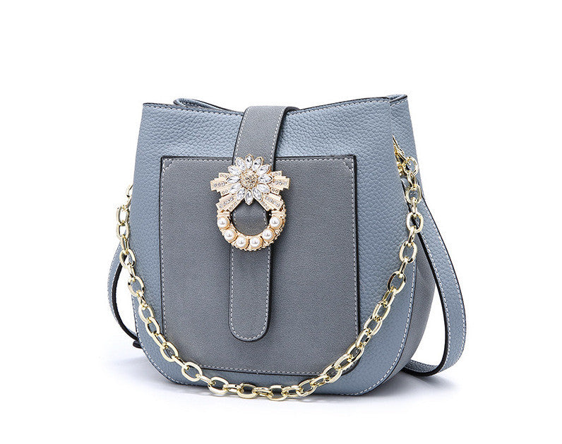 Flower Satchel Handbag