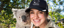 Load image into Gallery viewer, Caperly-childrens-activities-Symbio-wildlife-park-zoo_lady_cheek-to-cheek_with_koala