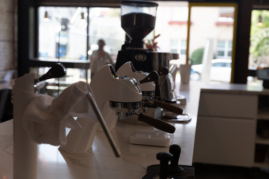 Modbar Espresso Machine at Cafenated Coffee House