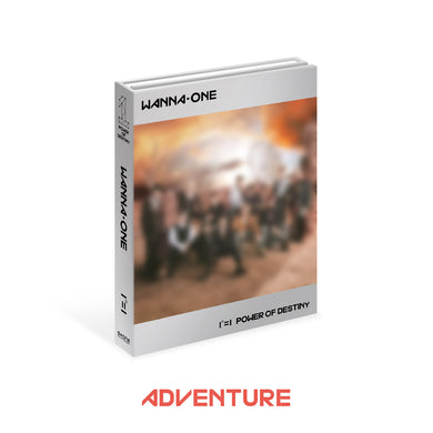 WANNA ONE - POWER OF DESTINY (ADVENTURE Ver.) + Poster