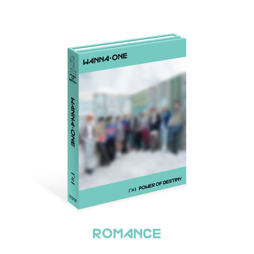 WANNA ONE - POWER OF DESTINY (ROMANCE Ver.) + Poster