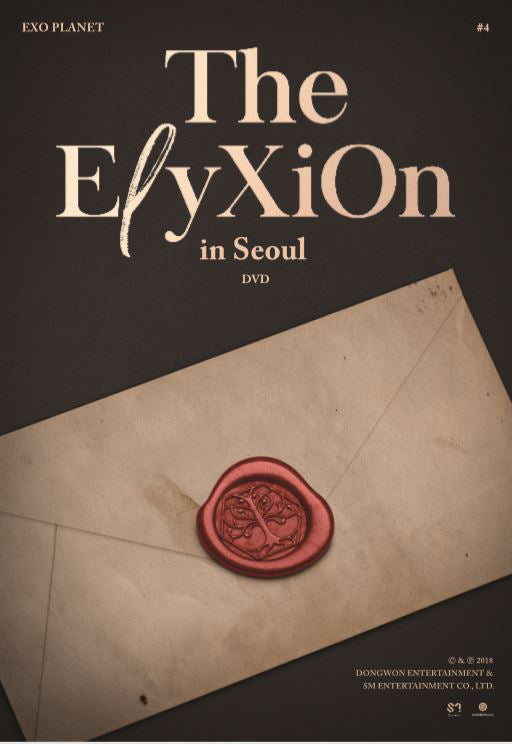 EXO - EXO PLANET #4 -The ElyXiOn in Seoul (DVD) + Poster