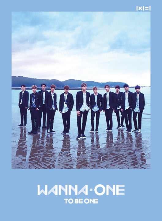 WANNA ONE - 1x1=1 TO BE ONE (SKY Ver.) + Poster