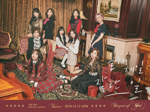 TWICE - The Year of YES + Poster