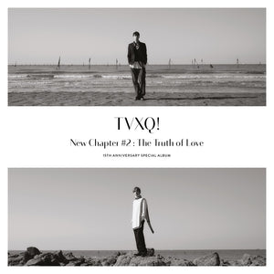 TVXQ - NEW CHAPTER #2 : The Truth Of Love + Poster