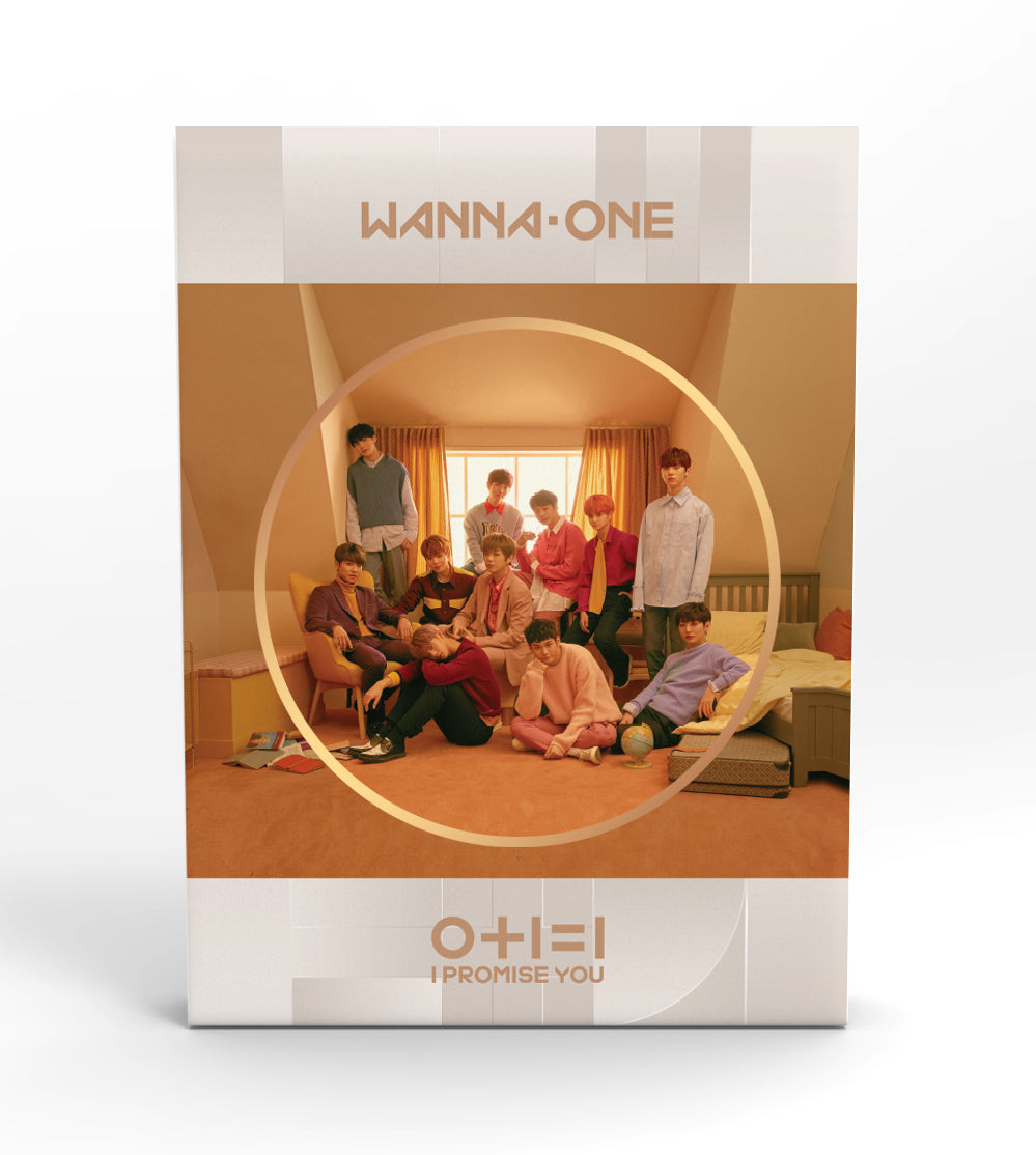 WANNA ONE - 0+1=1 I PROMISE YOU (DAY Ver.) + Poster
