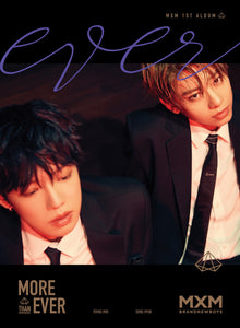 MXM (BRANDNEW BOYS) - MORE THAN EVER (EVER Ver.) + Poster