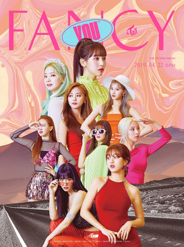 TWICE - FANCY YOU + Poster