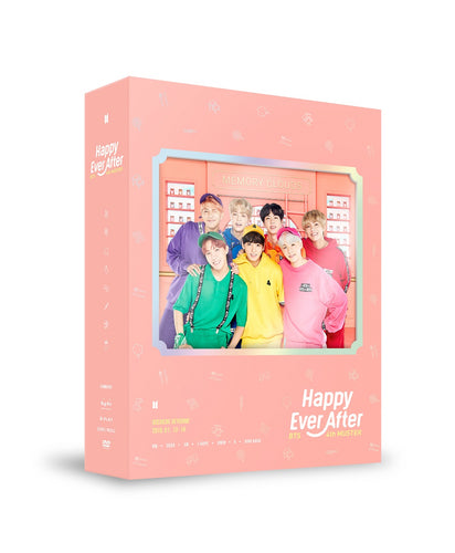 BTS - BTS 4th MUSTER 'Happy Ever After' (DVD)