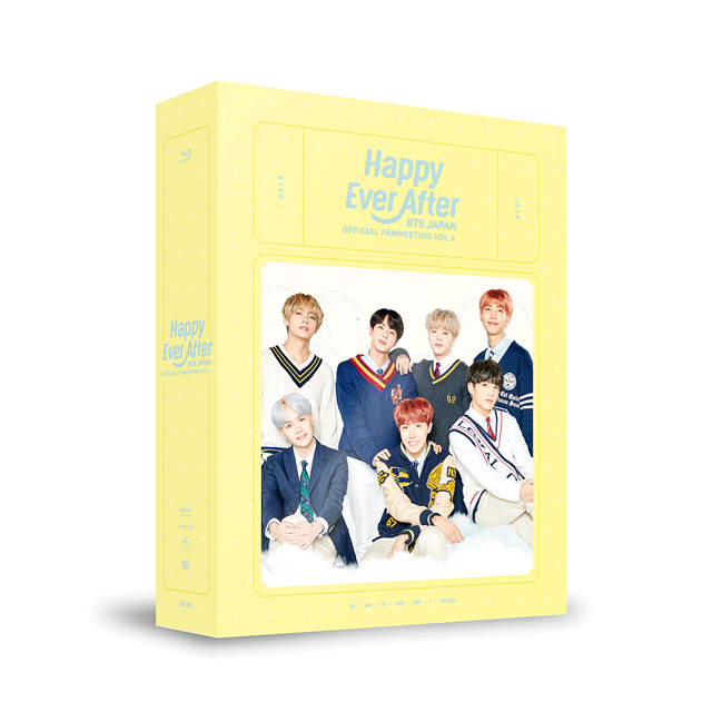 BTS - BTS JAPAN OFFICIAL FANMEETING VOL 4 [Happy Ever After] BLU-RAY