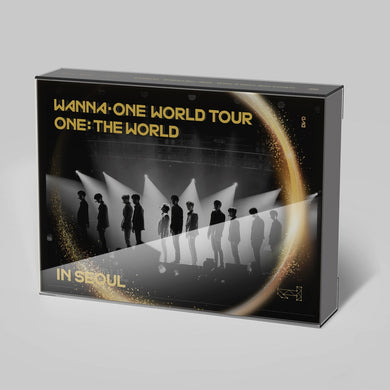 WANNA ONE - WANNA ONE WORLD TOUR ONE : THE WORLD IN SEOUL (DVD)