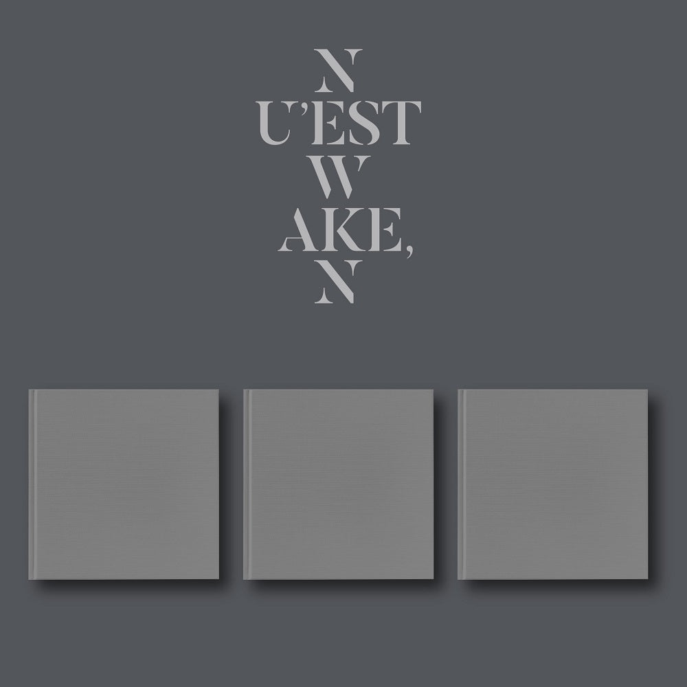 NU'EST W - WAKE'N + Poster