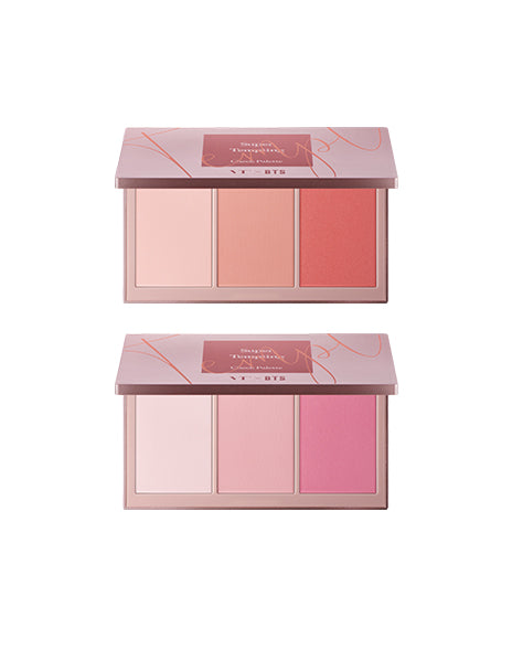 VT X BTS - SUPER TEMPTING:  CHEEK PALLETE