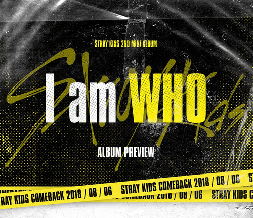 STRAY KIDS - I Am WHO (I am Ver.)