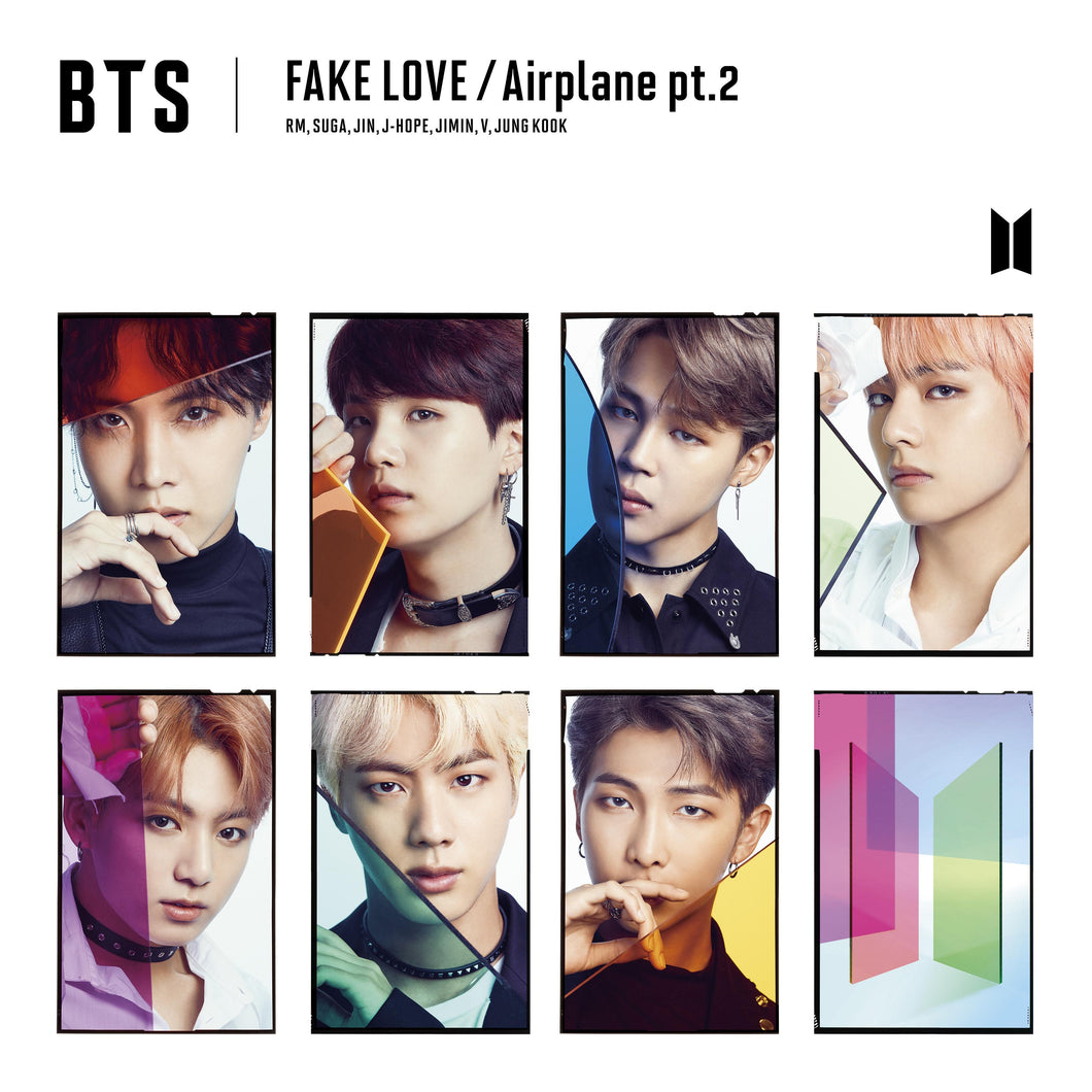 BTS - Fake Love/Airplane Pt. 2 (CD) [FC Limited Edition] + FC Benefit