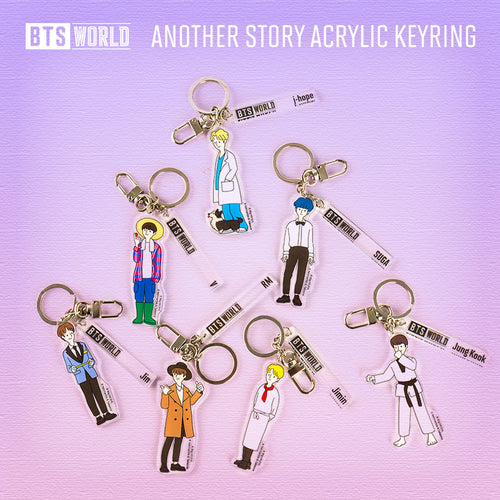 BTS WORLD Goods - Another Story Acrylic Keyring