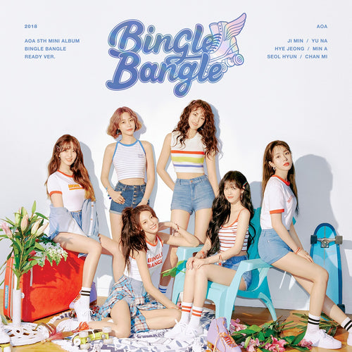 AOA - BINGLE BANGLE (READY Ver.) + Poster