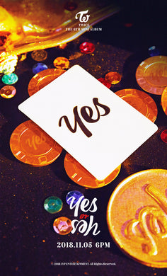 TWICE - YES or YES + Poster
