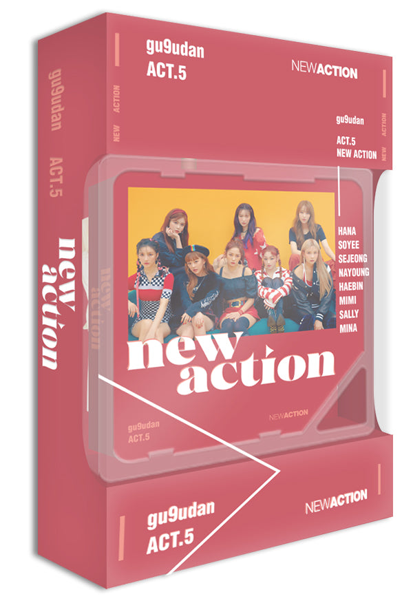 GUGUDAN - Act.5 New Action (Kihno Album)