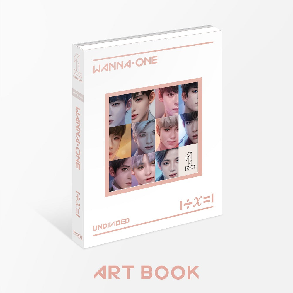 WANNA ONE - 1÷x=1 UNDIVIDED (ART BOOK Ver.) + Poster