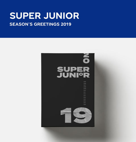 SUPER JUNIOR 2019 SEASON'S GREETING