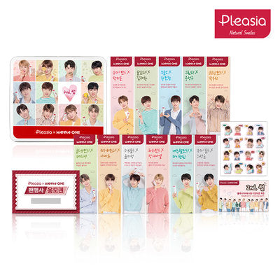 WANNA ONE X PLEASIA SET C