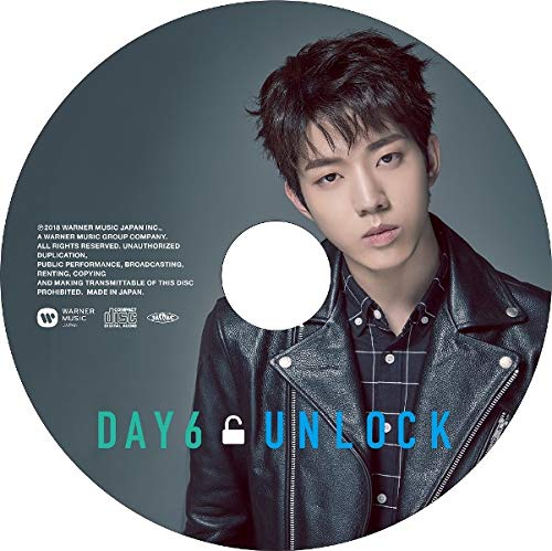 DAY6 - UNLOCK (CD) [Member Ver.]