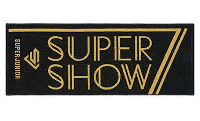 SUPER JUNIOR - SUPER SHOW 7 JAPAN OFFICIAL GOODS Face Towel