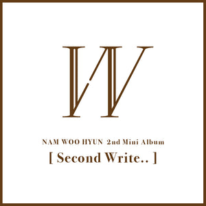 INFINITE NAM WOOHYUN - Second Write... (B Ver.)
