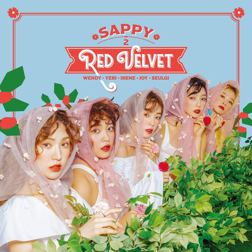 RED VELVET Japan 2nd Mini Album - SAPPY (CD+DVD) [LE]