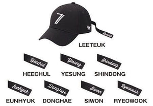 SUPER JUNIOR - SUPER SHOW 7 JAPAN OFFICIAL GOODS Cap