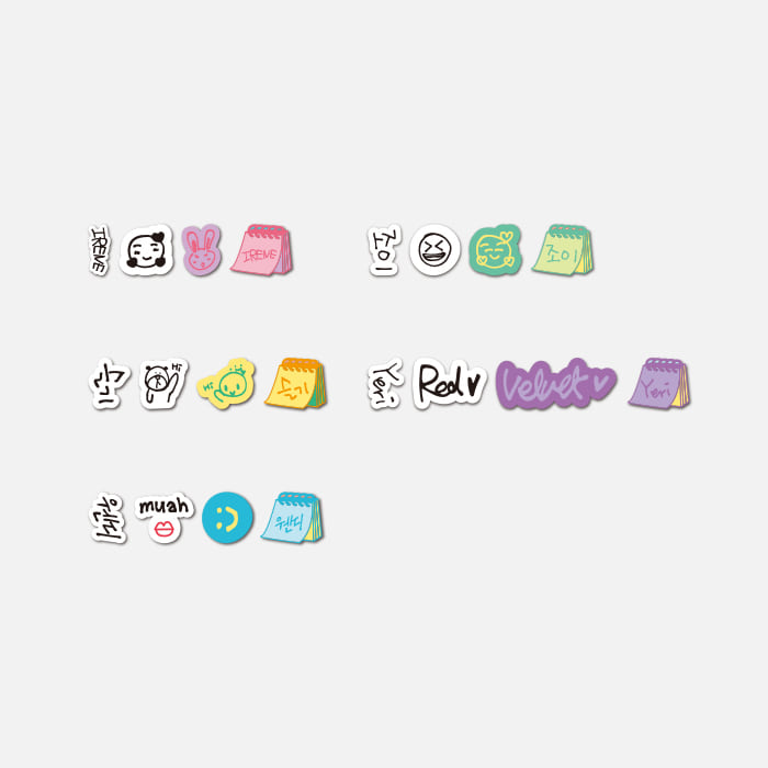 RED VELVET CHEER UP MD - Roll Masking Tape