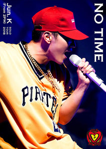 "Jun.K - Solo Tour 2018 ""NO TIME"" (DVD) [LE]"