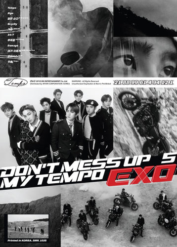 EXO - DON'T MESS UP MY TEMPO (Allegro Ver.) + Poster