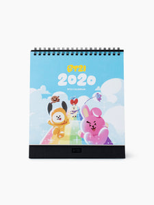 BTS - BT21 X LINE FRIENDS 2020 Calendar