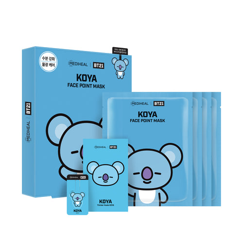 OLIVE YOUNG X BT21 - MEDIHEAL X BT21 POINT MASK