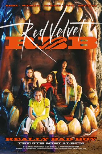 RED VELVET 5th Mini Album - RBB + Poster