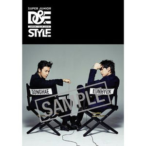 SUPER JUNIOR D&E 2018 JAPAN TOUR STYLE OFFICIAL GOODS - STYLE BOOK