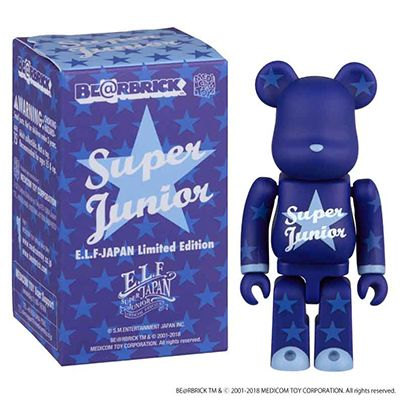 SUPER JUNIOR BE@RBRICK [ELF JAPAN Limited Edition]