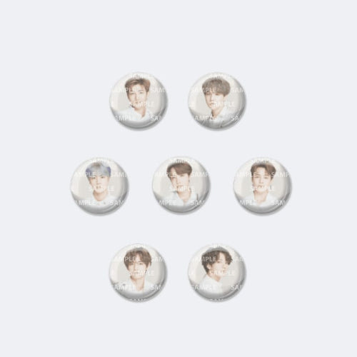 BTS Speak Yourself Official Goods - Can Badge