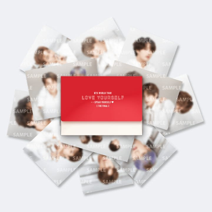 BTS Speak Yourself Official Goods - Mini Photocard