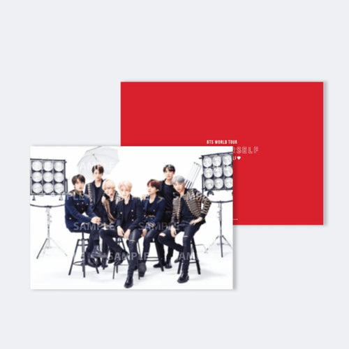 BTS Speak Yourself Official Goods - Poster Ver 2