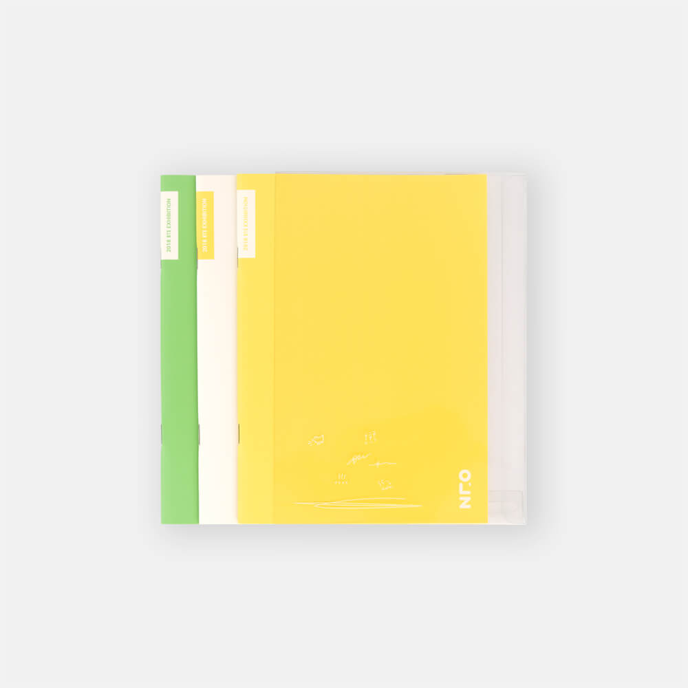 BTS - 2018 BTS EXHIBITION GOODS [오,늘] NOTEBOOK SET