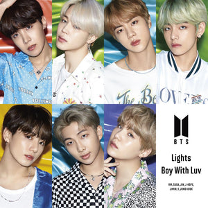 BTS - Japan 10th Single Album - Lights / Boy With Luv (CD) [FC Japan LE]