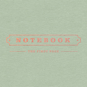 BLOCK B PARK KYUNG 1st Mini Album - NOTEBOOK