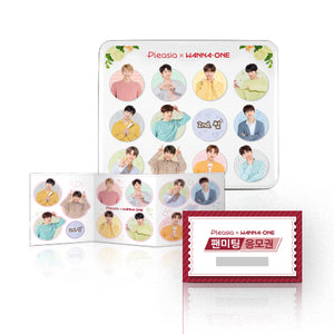 WANNA ONE X PLEASIA SET B