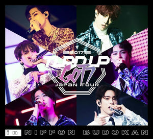 "GOT7 - Japan Tour 2017 ""TURN UP"" in NIPPON BUDOKAN (BLURAY+Photobook) [LE]"