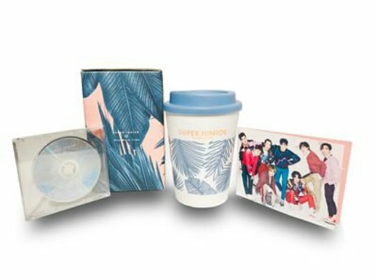 SUPER JUNIOR - ONE MORE TIME Japan Ver (CD) [ELF Japan LE] + ELF Japan Benefit