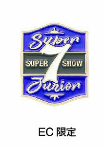 SUPER JUNIOR - SUPER SHOW 7 JAPAN OFFICIAL GOODS PIN (EC Ver.)